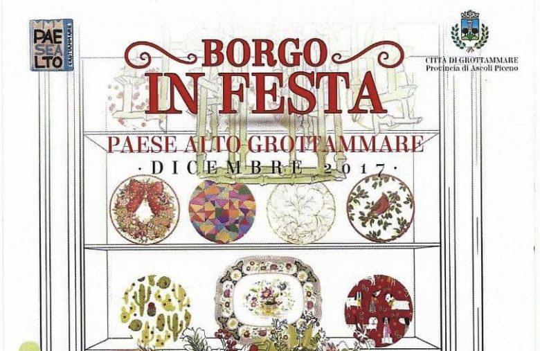 """Grottammare: arriva """"Borgo in festa"""". Tanti eventi a partire dal 2 dicembre"""